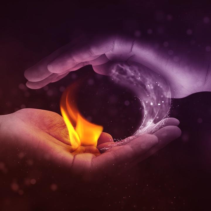 Feuer - Wasser - Erde - Luft